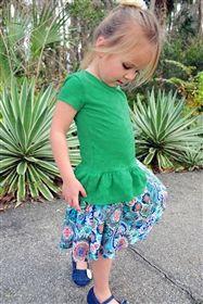 Persnickety Clothing - Wonderstruck Elsie Top in Green