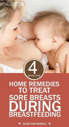 4 Effective Home Remedies To Treat Sore Breasts During Breastfeeding: Whatever it might be, this post is going to clear all your doubts for sure. Once you are done reading this post, the issue of sore breasts would never bother you again!