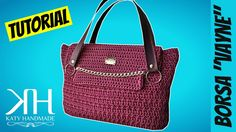 "TUTORIAL BORSA UNCINETTO ""Vayne"" | Punto trifoglio | How to make crochet bag || Katy Handmade - YouTube"