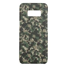 Green Camo Samsung Phone Case - pattern sample design template diy cyo customize