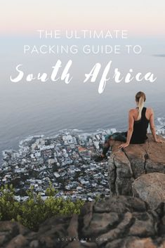 The best South Africa packing list with what to pack for South Africa. What to bring to South Africa, including what to wear in South Africa South Africa Safari, Visit South Africa, Safari Outfits, Safari Clothes, Cape Town, Africa Destinations, Travel Destinations, Packing List For Travel, Packing Tips