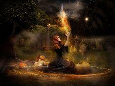 witch - Witchcraft Wallpaper (34784486) - Fanpop