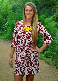 Hesed Boutique - Crowd Appeal Paisley Dress, $34.00 (http://www.hesedboutique.com/crowd-appeal-paisley-dress/)