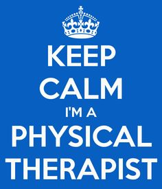 KEEP CALM I'M A PHYSICAL THERAPIST or PHYSICAL THERAPIST ASSISTANT lol