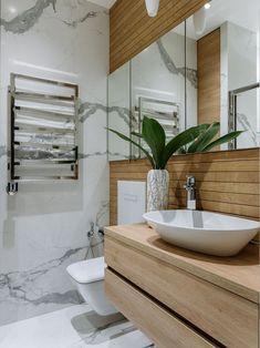 Modern Kitchen Interiors, Bathroom Inspiration, Bathroom Ideas, Double Vanity, Future House, Ikea, Interior Design, Deco, Bathrooms