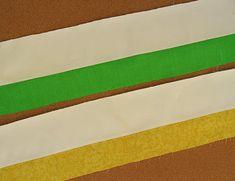 Barras de tecido costurados