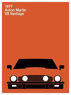 Aston Martin V8 Vantage, 1977