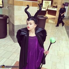 Our Own 4 Year Old Maleficent | Halloween costume contest, Costume ...