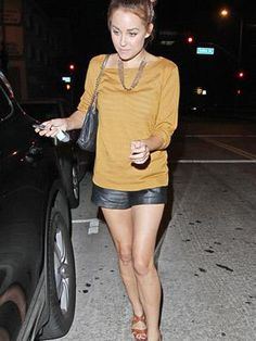 Would you wear leather shorts?