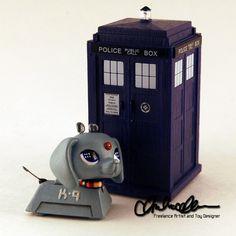 K-9 from Doctor Who custom LPS by thatg33kgirl.deviantart.com on @DeviantArt