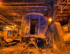 The abandoned Track 61, Secret Train Platform Under the Waldorf-Astoria in Manhattan, NY.