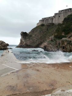 Fort Lovrijenac, Dubrovnik, Croatia (maybe G.O.T. fans will recognize this bit)