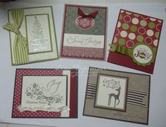 Christmas Card stamp a stack! | Stamping With Lisa