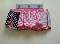 Gidget Shorts girl's pdf shorts pattern by by FelicityPatterns