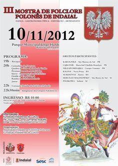 Mostra de folclore polonês de Indaial