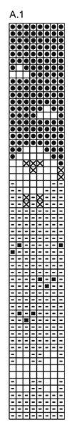 Summer Grazing Potholder - Gebreide pannenlap met veelkleurig patroon van DROPS Safran. - Free pattern by DROPS Design