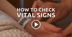 How to Check Vital Signs --- Vital signs include the temperature, respiratory rate, pulse, and blood pressure. It is essential to understand the process in order to document the patient's status correctly.