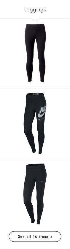"""Leggings"" by daniperkins2 ❤ liked on Polyvore featuring pants, leggings, bottoms, jeans, calças, black, elastic waistband pants, print leggings, patterned pants and elastic waist pants"