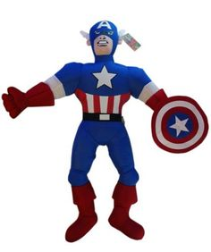 Avengers Plush Toys For Kids. Captain America Plushies For Kids