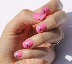 Pink Lola Nail Wraps by SoGloss on Etsy https://www.etsy.com/listing/251326432/pink-lola-nail-wraps