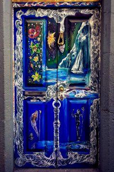 ♪ Puerta en Funchal en Madeira, Portugal