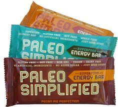 Paleo Diet Products: Paleo Simplified Energy Bars