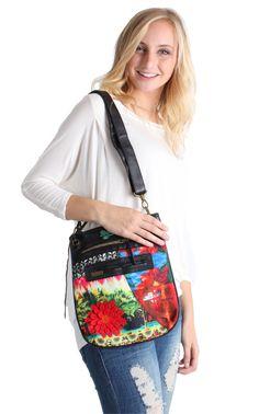 DESIGUAL BANDOLERA AMAZON BAG - 52X59K3 http://rockingboutique.com/collections/desigual/products/desigual-bandolera-amazon-bag-52x59k3