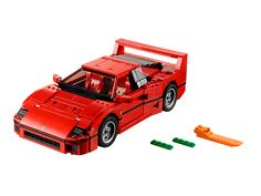 Build your very own Ferrari F40. You've out done yourself this time Lego, this is a must buy for me.