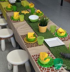 Safari theme party hire packages for children in Perth, WA