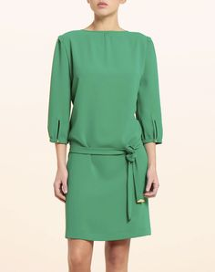 Vestido verde años 60 (I would make the sleeves longer)