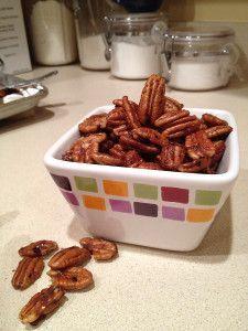 Spiced Pecans...Mmmm!