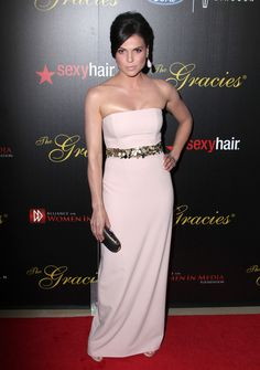 Lana Parrilla At The 38th Annual Gracie Awards Gala