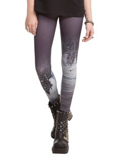 The Mortal Instruments: City Of Bones By Tripp Shadow World Leggings | Hot Topic: Stretchy leggings inspired by The Mortal Instruments: City of Bones. Black with Shadow World sublimation print. $ 29.50 USD