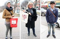 Style YYC: 17th Avenue Makeover. Fashionistas brave icy winds to bring out the street style.