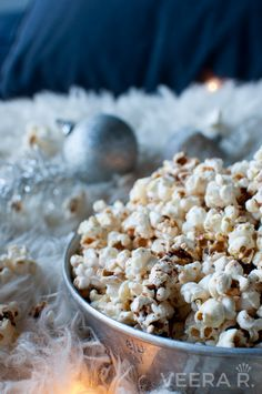 Home popped corn is a healthy snack. You can do popcorn totally without salt or oil.