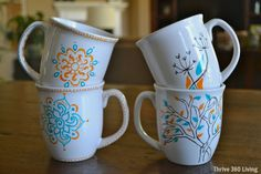 (This post contains affiliate links for your convenience.) It all began when I started seeing mugs decorated using Sharpie pens all over Pinterest. I did a little research and found that a lot of people had issues with the SharpiesRead More