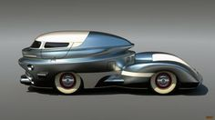 big oldtimer by Waldemar-Kazak on DeviantArt Strange Cars, Weird Cars, Automobile, Beach Cars, Transportation Design, Ground Transportation, Retro Futurism, Automotive Design, Dieselpunk