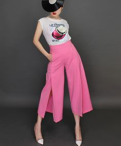 I love Update: กางเกงขาบาน PANTS ARE IN STYLE FOR SPRING-SUMMER 2015