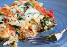 Adventures in all things food: Veggie-licious Lasagna - Fun With Food #Recipe. Use rice pasta and seed cheese to be TED safe.