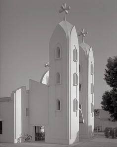 @vintage_sudan, Elobeid Coptic Church, Sudan.