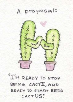 But this is not as great as it seems because cacti is the plural form of the singular cactus