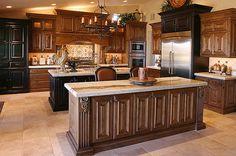 Kitchen Renovation With Stone Creek Furniture Black