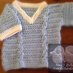 Short Sleeve Sweater/ Swerita Manga Corta  @amybellababies #amybellababies #crochet #crocheted #crocheting #crocheter #crochetlove #crochetlover #crochetaddict #crochetaddicted #crochetaddiction #crochetart #crochetartist #crochetersofinstagram #handmade #handcrafted #handcraft