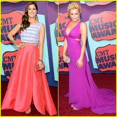 2014 CMS Music Video Awards - Cassadee Pope (Voice winner), and Kellie Pickler, best known for American Idol.