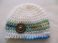 BabyLuv NEW CROCHET Hat for Baby Boy by kimcrochetcreations, $6.95