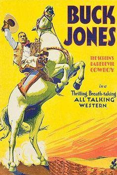 Cowboy star on white rampant stallion
