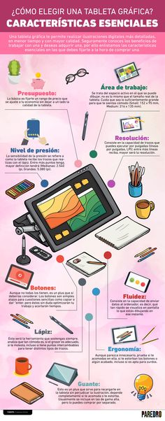 elegir una tableta Infographics: How to choose a graphic tablet? Essential characteristics If you have already decided to invest in one, but still do not know how to choose a graphic tablet, in this infographic we tell you what to look for. Graphisches Design, Line Design, Graphic Design, Steps Design, Design Ideas, Circle Infographic, Timeline Infographic, Process Infographic, How To Create Infographics