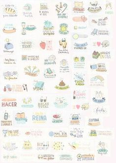 Stickers for your planner. Pegatinas para tu agenda. Scrap, scrapbooking, diy, mr wonderful. Agenda mr wonderful 2015 2016                                                                                                                                                      Más