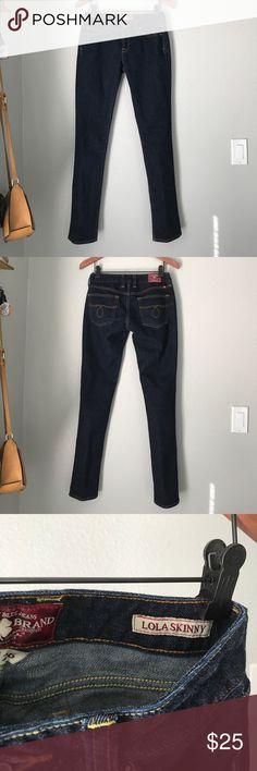 Lucky Brand | Lola Skinny Dark wash Jeans 2/26 Lucky Brand | Lola Skinny Dark wash Jeans 2/26 Lucky Brand Jeans Skinny