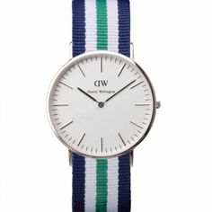 Nato strap watches by Daniel Wellington at Dezeen Watch Store Daniel Wellington Damen, Daniel Wellington Watch, Nylons, Glasgow, Cool Watches, Watches For Men, Women's Watches, Wrist Watches, Purses